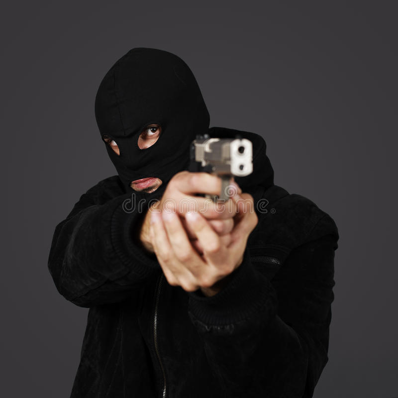 Download Gun man stock image. Image of danger, policeman, gunman - 19600417