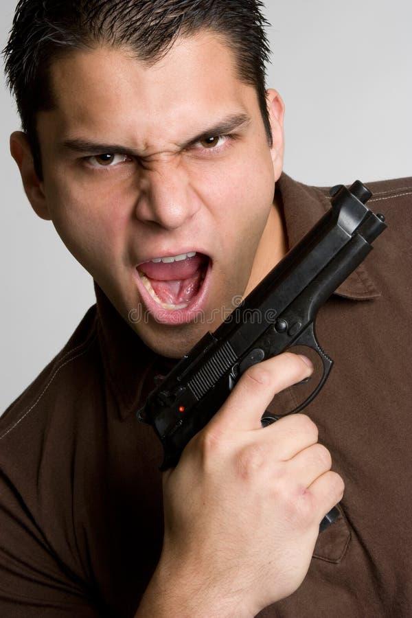 Download Gun Man stock photo. Image of teens, holding, hand, violence - 9185222
