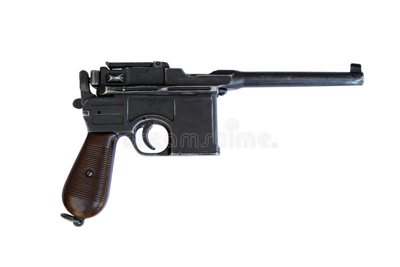 Mauser C96 Bolo Semi-Automatic Pistol with Holster and Two Stock ...