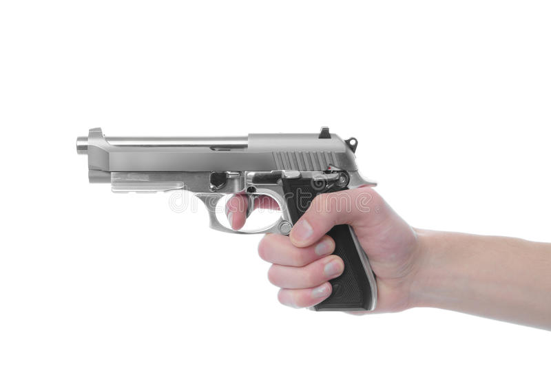 Download Gun Point stock photo. Image of pointing, five, police - 12979076