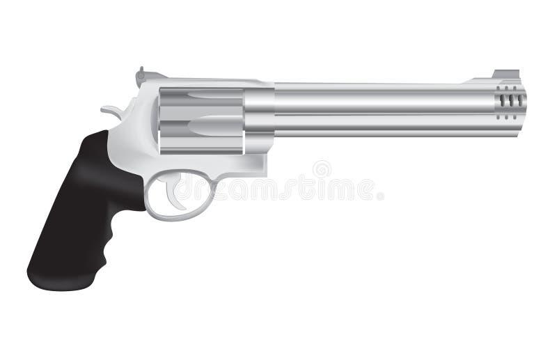 Download Gun And Revolver Illustration Stock Vector - Illustration of silhouette, defense: 18268133