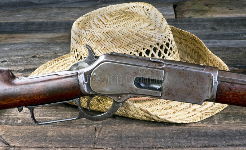 Gun that won the West. royalty free stock images