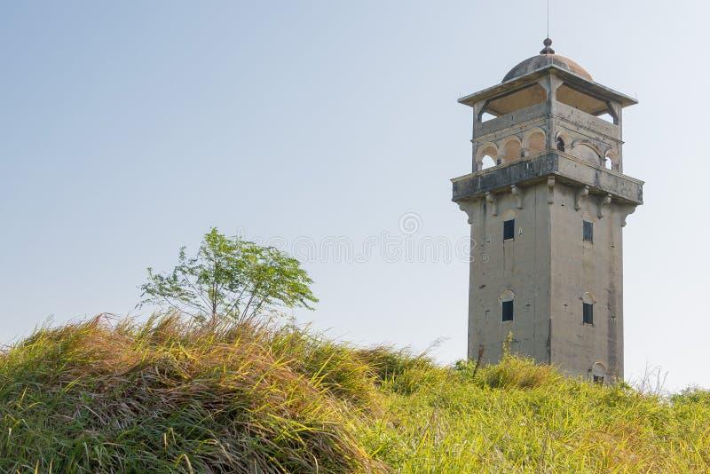 GUNAGDONG, CHINA - 17 de dezembro de 2015: Fang Clan Watch Tower de Zil imagem de stock