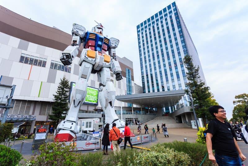 Gundam normal RX78 dans le 1:1 de rapport photo libre de droits