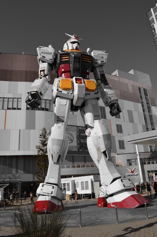 Download Gundam editorial stock image. Image of technology, japan - 30405284