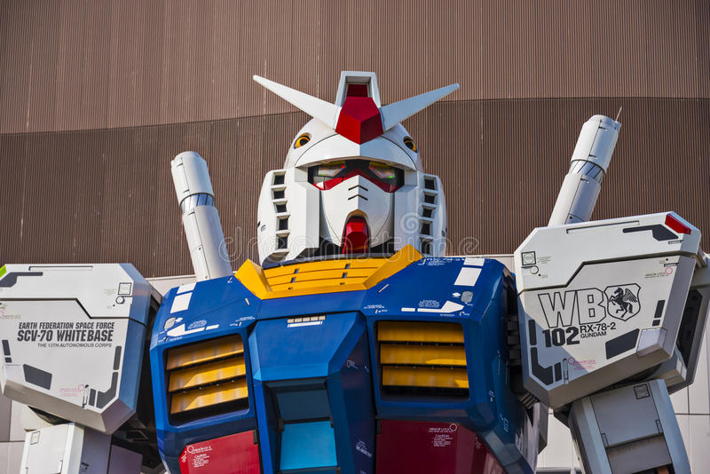Download Gundam Suit editorial photography. Image of japanese - 36646162