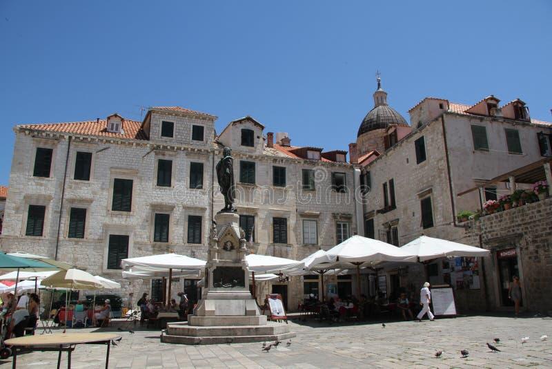 Download Gundulic Square Dubrovnik Croatia Editorial Photography - Image: 27025357