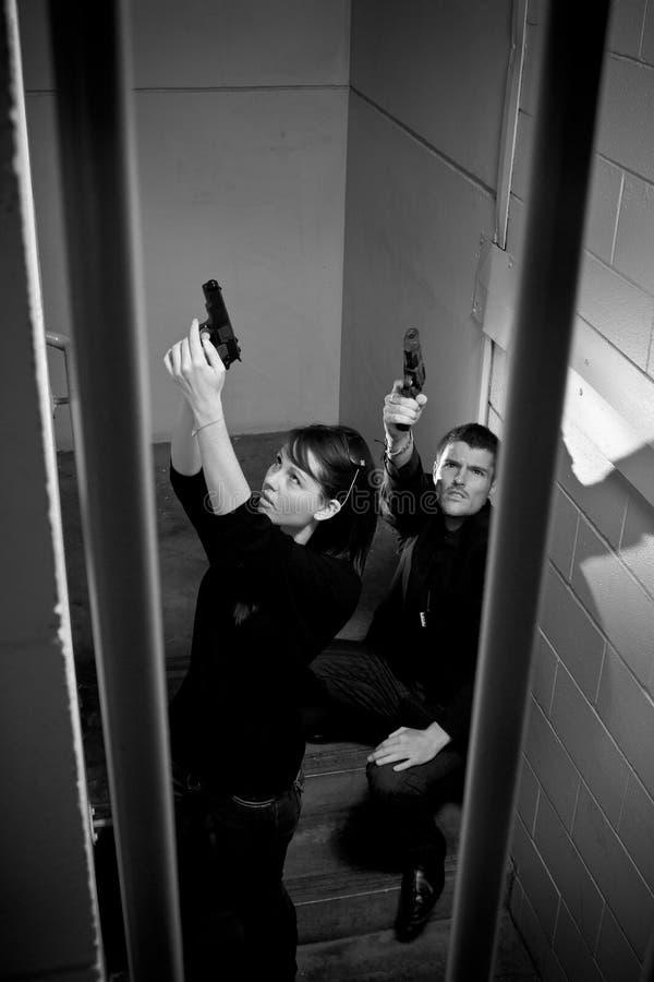 gunfight στοκ φωτογραφίες