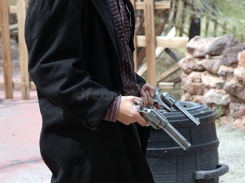 Gunfighter ситца 18 Стоковое Изображение