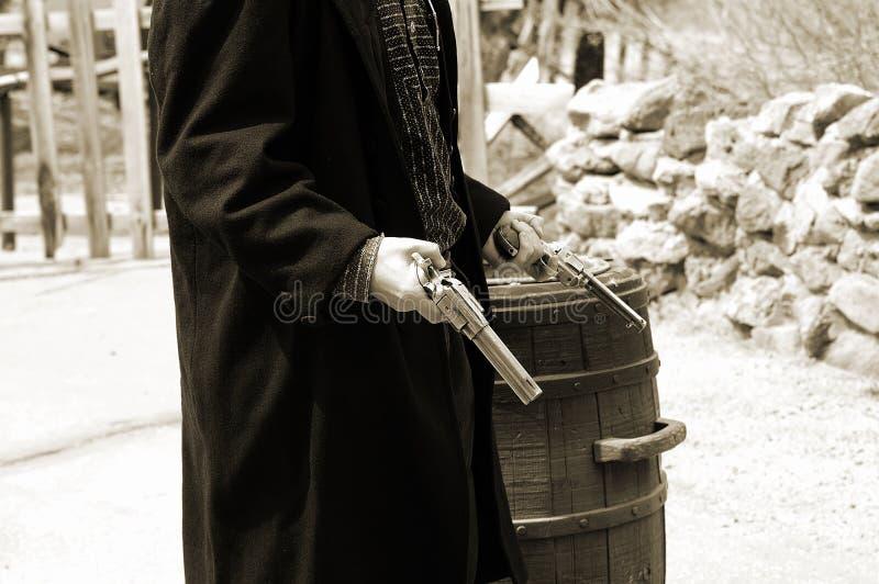 Gunfighter ситца 5 Стоковые Изображения
