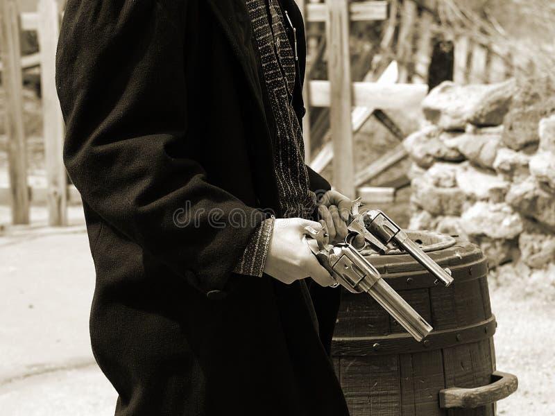 Gunfighter 18 Del Calicò Fotografia Stock Libera da Diritti