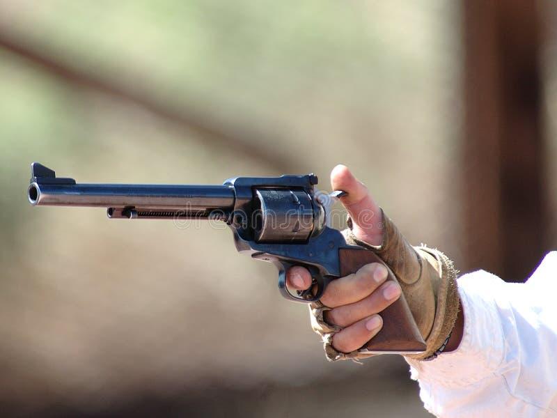 Gunfighter 5 Del Calicó Imágenes de archivo libres de regalías