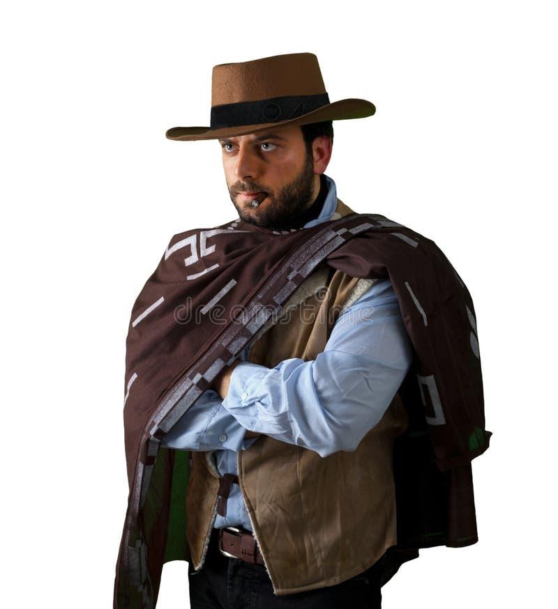 Gunfighter av det lösa västra royaltyfri bild