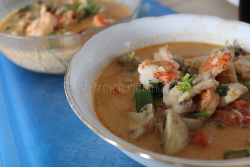 Gung батата Тома, тайская еда стоковое фото rf