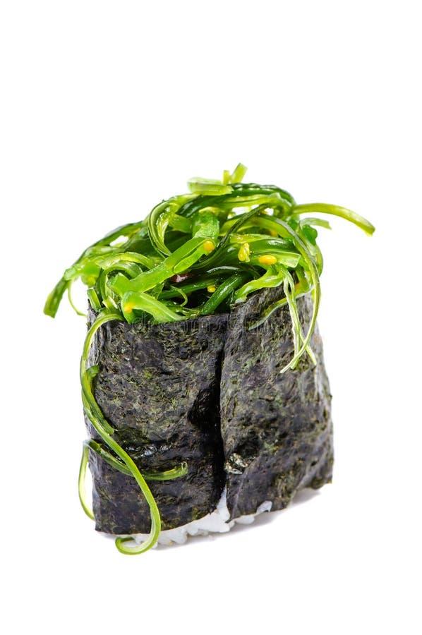 Gunkan com alga fotografia de stock royalty free