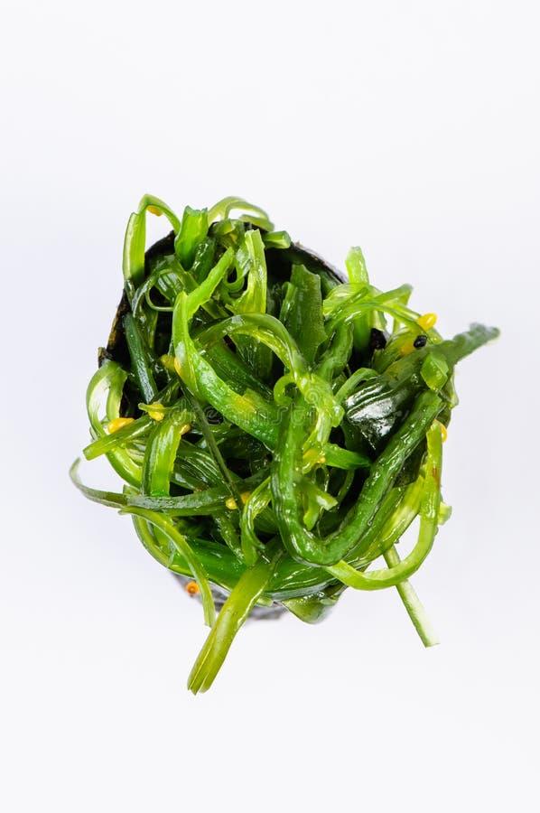 Gunkan com opinião superior da alga fotos de stock