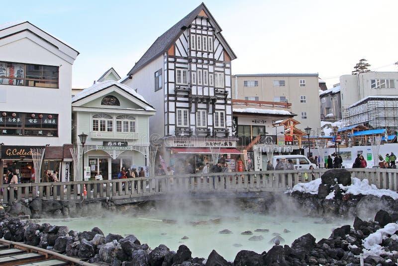 GUNMA JAPAN arkivbild