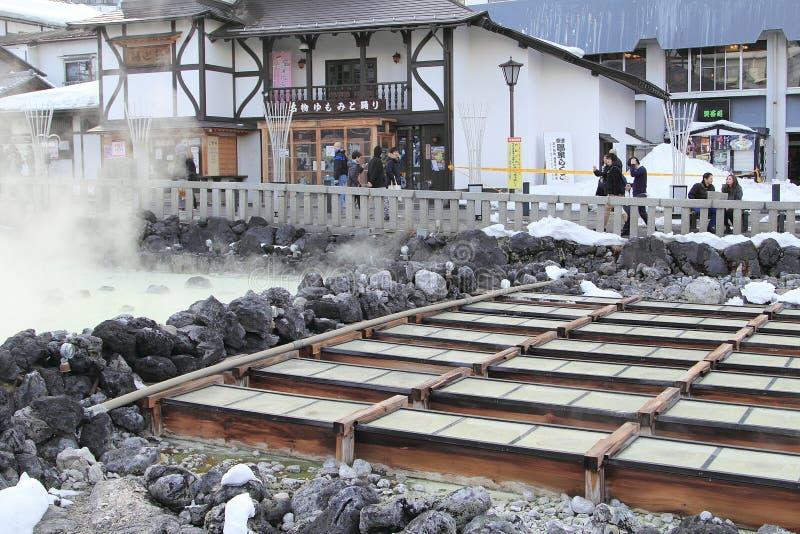 GUNMA, JAPONIA obraz stock