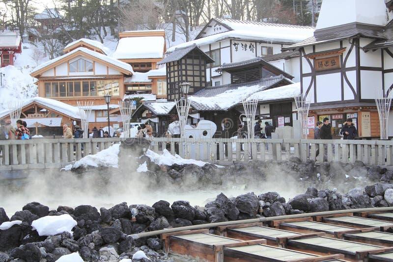 GUNMA, JAPONIA fotografia stock
