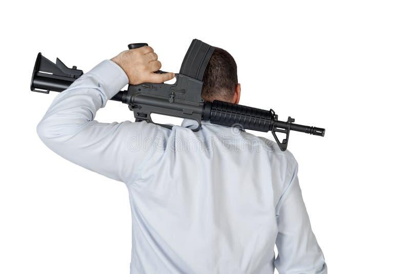 Gunman stock photography