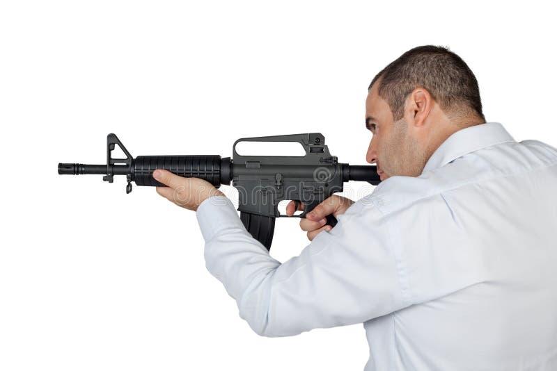 Gunman stock photos