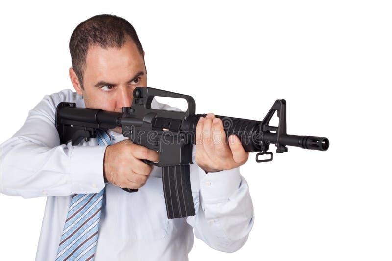 Gunman royalty free stock images