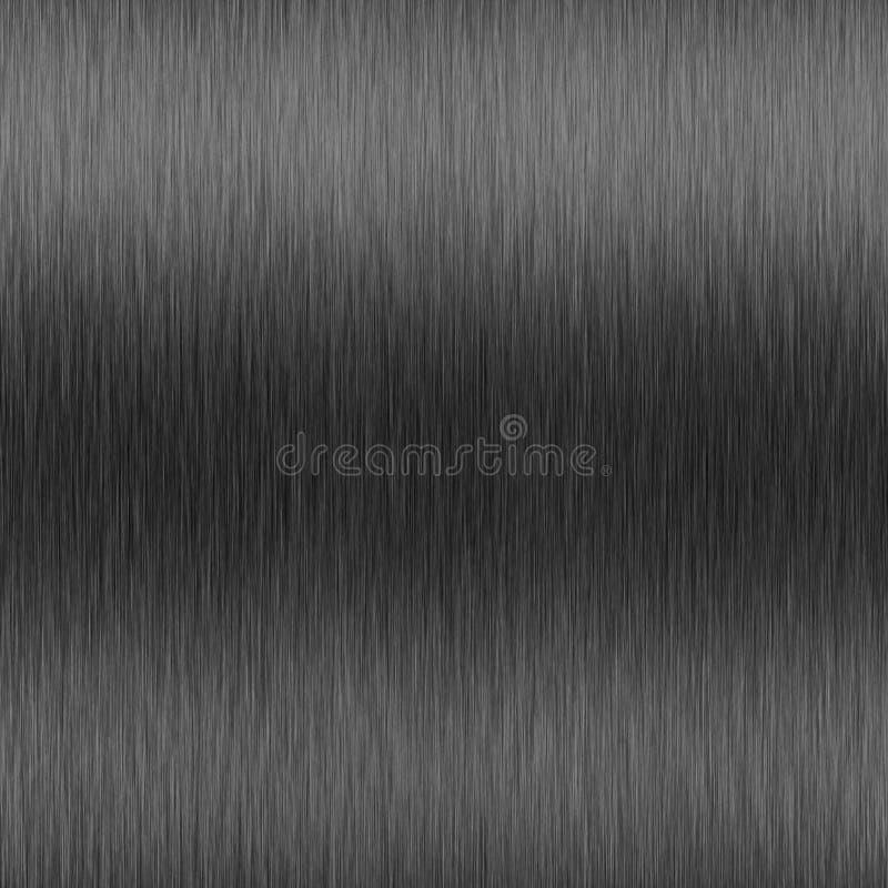 Gunmetal del alto contraste ilustración del vector