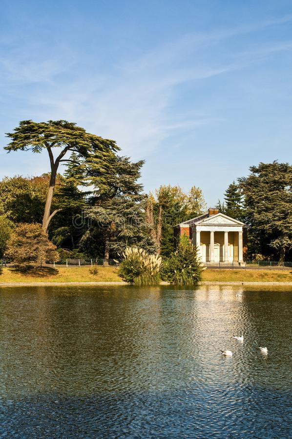 Gunnersbury-Park, Brentford, London, Großbritannien stockbilder