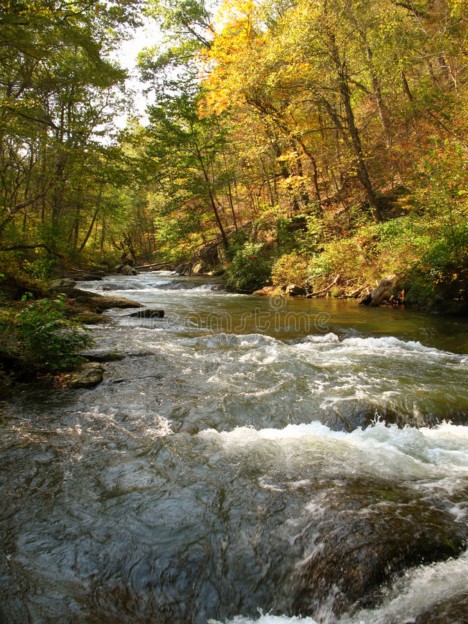 Download Gunpowder River-October stock image. Image of foliage - 3412953