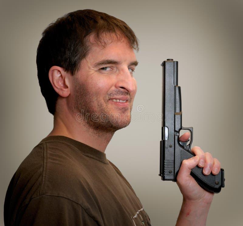 Guns Are Cool. stock photos