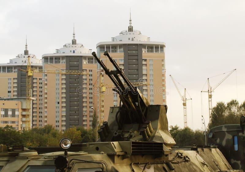 Download Guns of military vehicle stock photo. Image of machine - 1812810