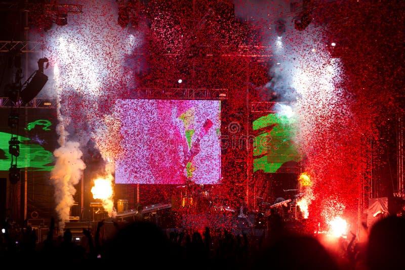 Download Guns N' Roses At Tuborg Green Fest Editorial Stock Image - Image: 25941839
