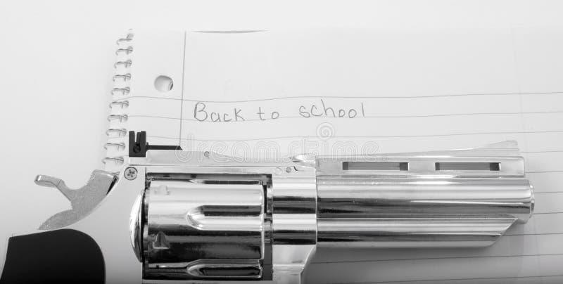 Guns in Schools stock image