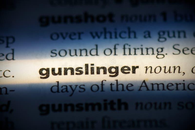 Gunslinger photos libres de droits