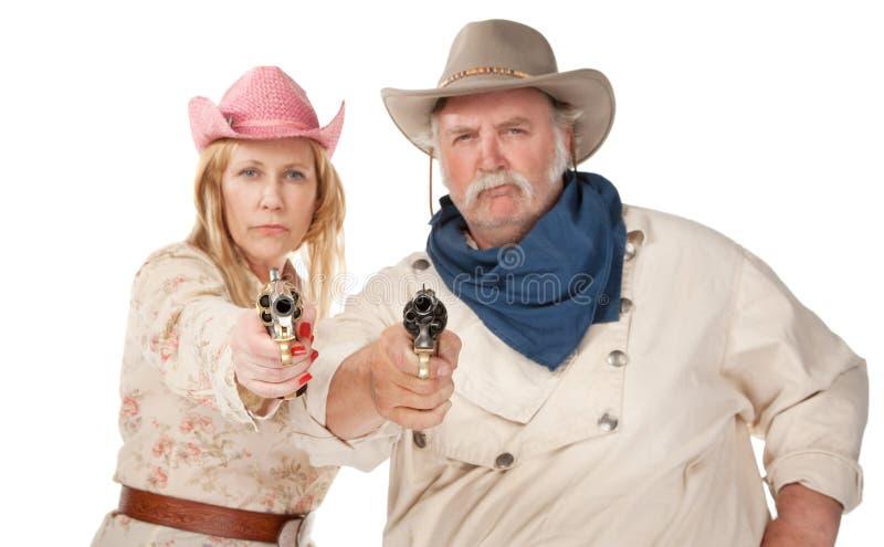 gunslingers στοκ εικόνα με δικαίωμα ελεύθερης χρήσης