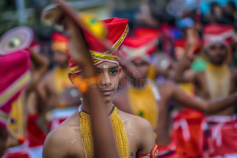 Gunst van kadhakali royalty-vrije stock afbeeldingen
