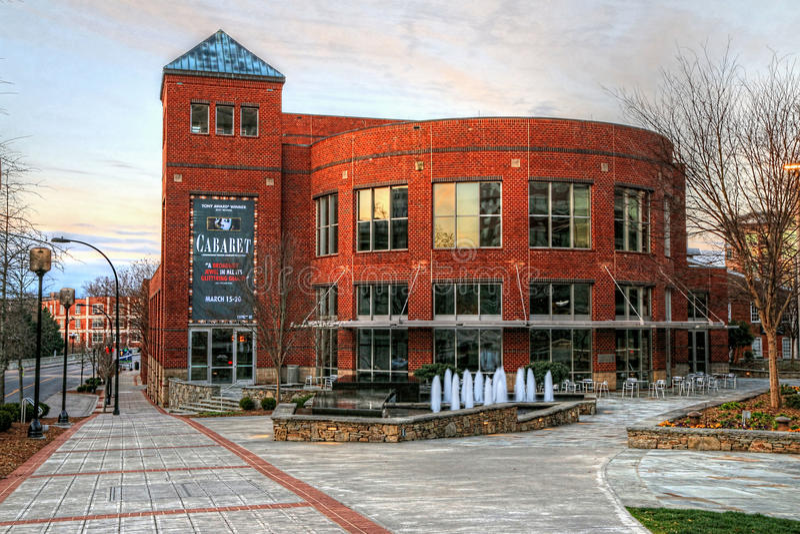 Gunter Theater At The Peace Center, Greenville South Carolina stock photo
