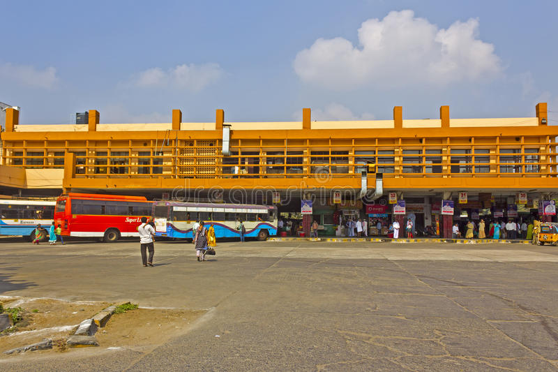 Guntur przystanek autobusowy fotografia royalty free