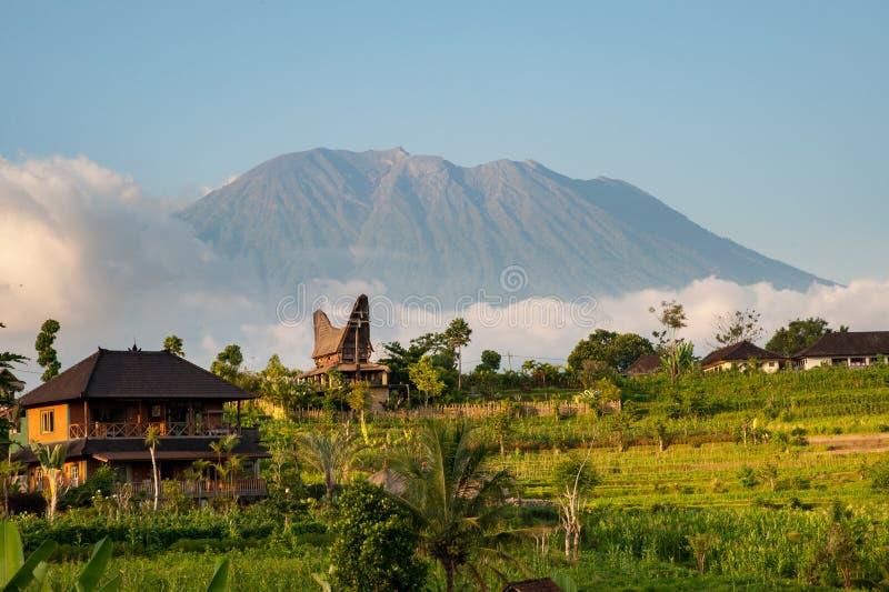 Gunung Agung στοκ εικόνα με δικαίωμα ελεύθερης χρήσης