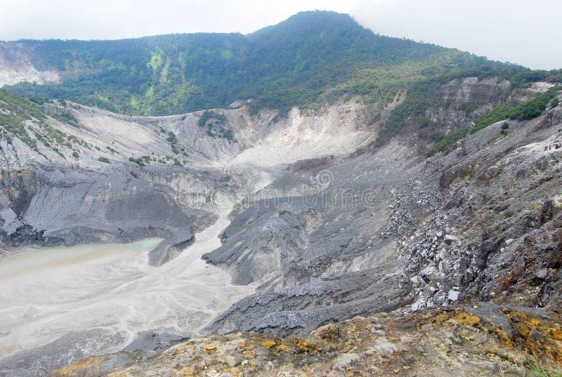 Gunung Bartur vulkan arkivbilder