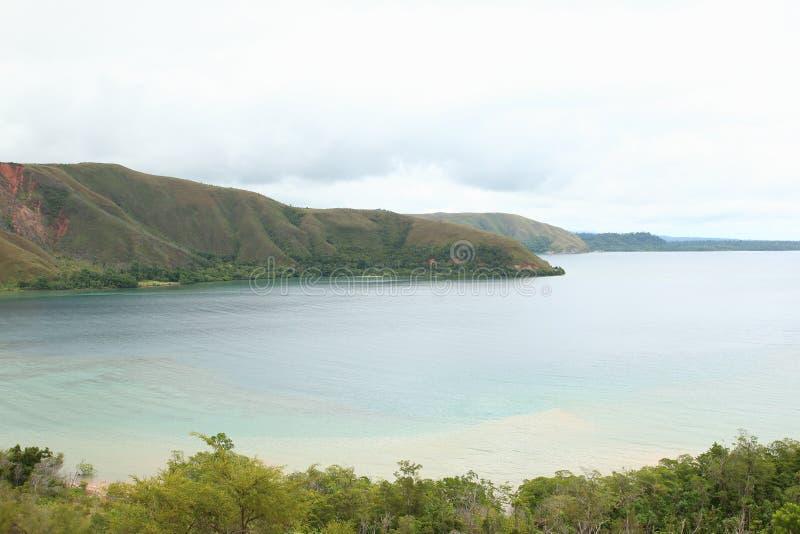 Gunung Botak, Manokwari du sud photos stock