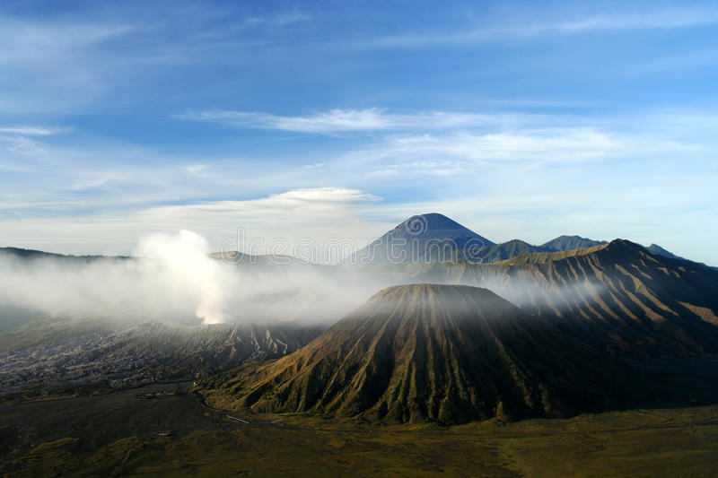 Download Gunung Bromo after sunrise stock image. Image of fumes - 24469755