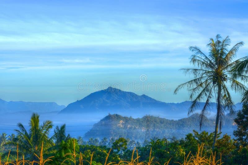 Gunung Bungsu Dipagi Hari stock photography