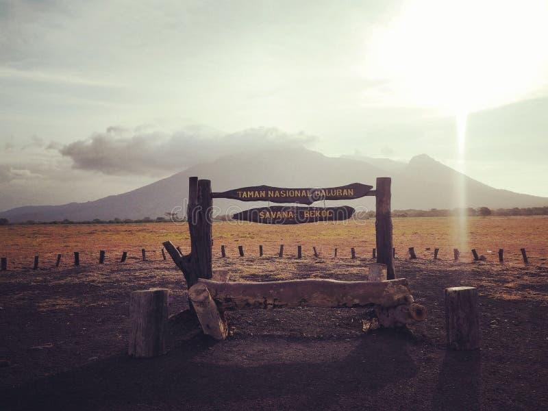 Gunung ijen royalty free stock photos