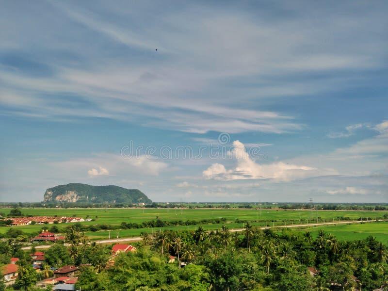 Gunung Keriang & x28; 登上Keriang& x29; 在亚罗士打,吉打,马来西亚 库存图片