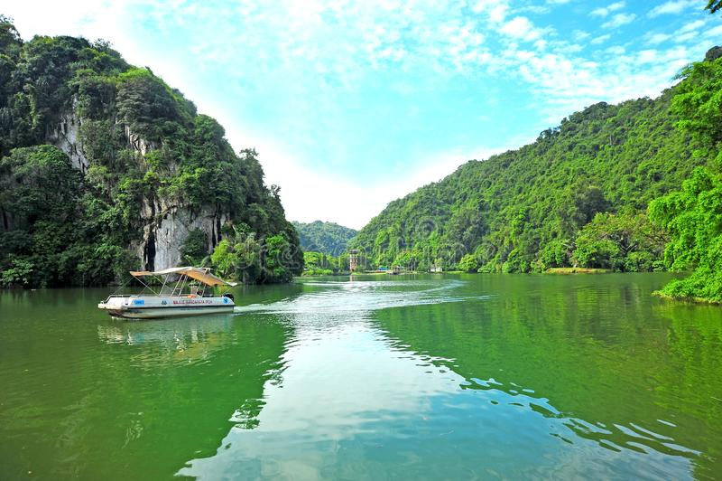 Gunung Lang Recreational Park stockbild