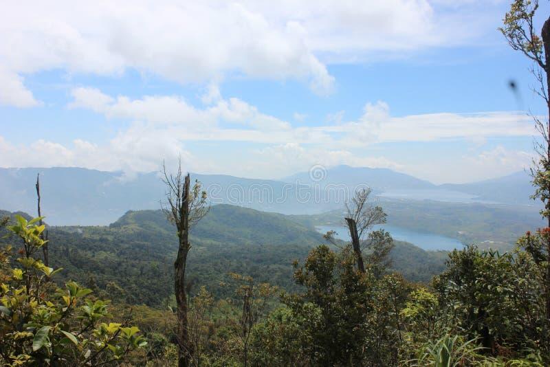 Gunung talang, royalty free stock image