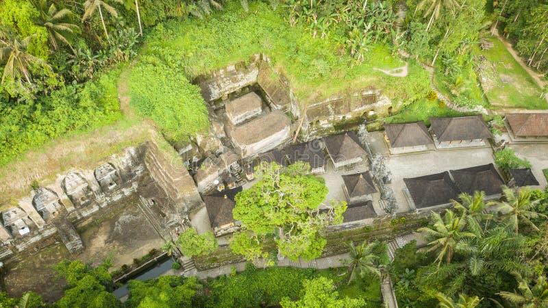 Gunungs-kawi Tempel in Bali, ubud INDONESIEN lizenzfreies stockbild