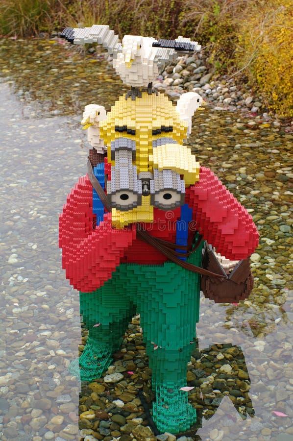 GUNZBGUNZBURG, GERMANY - OCTOBER 2013: mini figure people from LEGO bricks on october, 2013, Gunzburg, Germany, EuropeURG GERMANY royalty free stock images