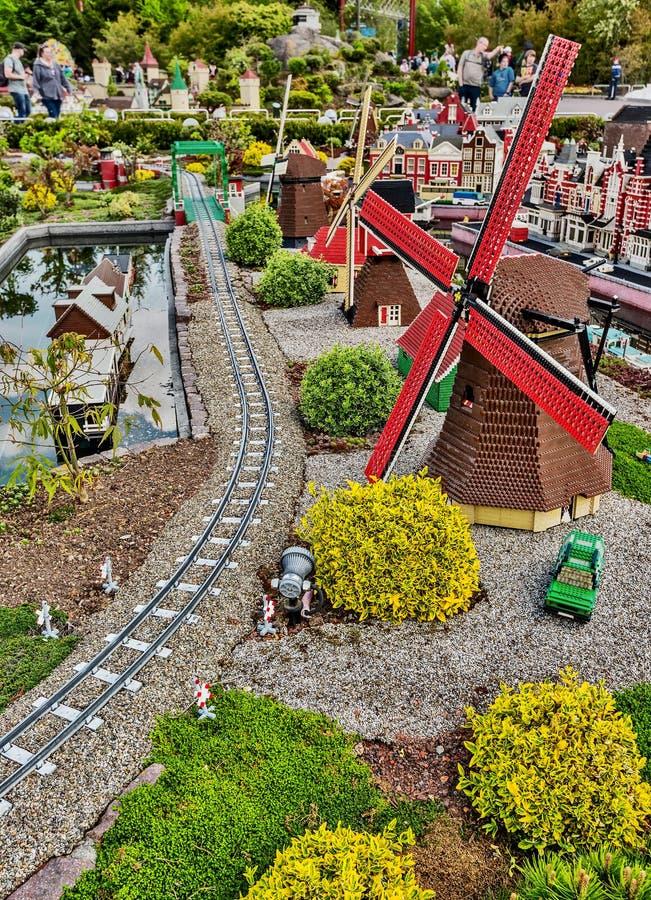 Gunzburg, GERMANY - MARCH 26: Legoland - Mini Europe From ...